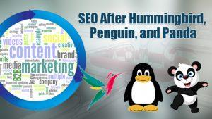 SEO recovery for Google Penguin Panda